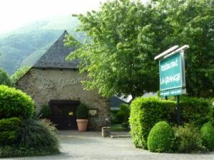 Le Grange restaurant occupies an old barn and an excellent chef