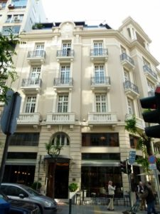 The Excelsior is an elegant, Art Deco boutique hotel in downtown Thessaloniki